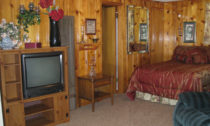 Belle Starr Authentic Lodge Style Room at Mountain Shadows Lodge