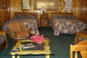 Poncho Villa Authentic Lodge Style Room at Mountain Shadows Lodge